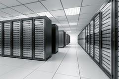 Quarto do server Imagens de Stock