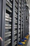 Quarto do server de rede Fotos de Stock