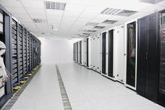 Quarto do server de rede Imagem de Stock Royalty Free