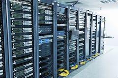 Quarto do server de rede Imagem de Stock