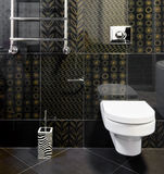 Quarto doméstico em cores pretas imagem de stock royalty free