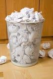 Quarto dos desperdícios Fotografia de Stock Royalty Free