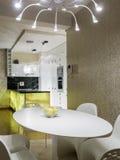 Quarto e cozinha de Dinning Imagens de Stock