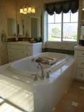 Quarto elegante do banho Foto de Stock