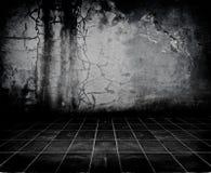 Quarto escuro de Grunge Foto de Stock Royalty Free