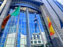 Quarto europeo a Bruxelles, Belgio Immagini Stock Libere da Diritti