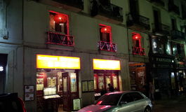 Quarto gótico em Barcelona Imagens de Stock Royalty Free