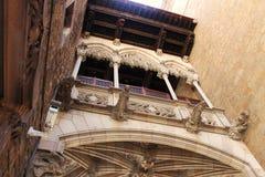 Quarto gotico di Barcellona Fotografia Stock Libera da Diritti