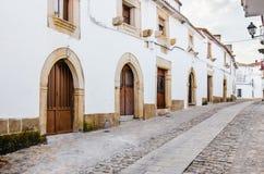 Quarto gotico in Valencia de Alcantara, Caceres, Estremadura, s immagini stock
