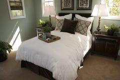 Quarto home luxuoso moderno. imagens de stock royalty free