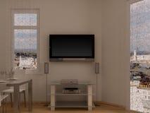Quarto interior Foto de Stock Royalty Free