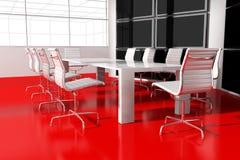 Quarto interior moderno para reuniões Foto de Stock Royalty Free