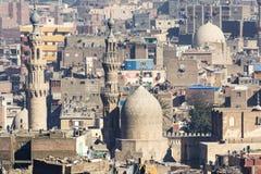 Quarto islamico di Il Cairo visto da Saladin Citadel, Egitto immagine stock libera da diritti