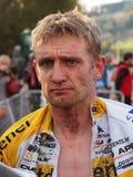 In quarto luogo in tondo del Cyclocross 2011-2012 WorldCup Fotografia Stock Libera da Diritti