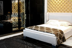 Quarto luxuoso Foto de Stock Royalty Free