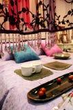 Quarto luxuoso - interiores home Foto de Stock