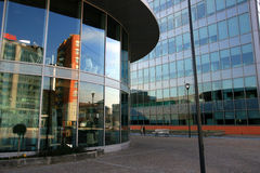 Quarto moderno dos escritórios fotografia de stock royalty free