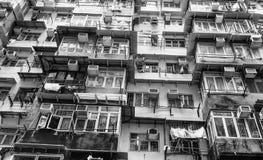 Quarto molto popolato della baia con gli edifici alti, Hon della cava Fotografie Stock Libere da Diritti