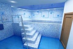 Quarto para a natação ilustração royalty free
