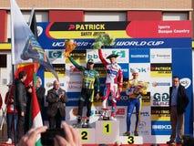 quarto tondo della tazza 2011-2012 di mondo di Cyclocross Immagine Stock Libera da Diritti