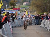 quarto tondo della tazza 2011-2012 di mondo di Cyclocross Immagine Stock