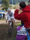 quarto tondo della tazza 2011-2012 di mondo di Cyclocross Immagini Stock