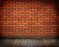Quarto vazio de Grunge Imagem de Stock