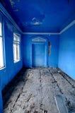 Quarto velho azul Imagens de Stock Royalty Free