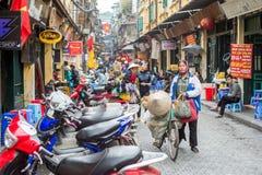 Quarto velho de Hanoi Imagem de Stock Royalty Free