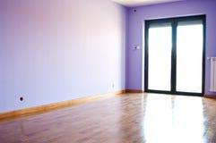 Quarto violeta moderno Imagens de Stock