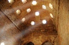 Quartos de vapor de Alhambra. fotos de stock royalty free