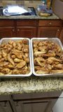 Quartos do pé de Texas Grilled Chicken fotos de stock royalty free