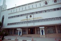 Quartos velhos do parlamento nacional, Luanda - Angola imagens de stock