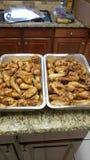 Quarts de jambe de Texas Grilled Chicken photos libres de droits