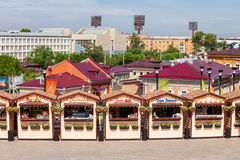 130 quarts de Kvartal, Irkoutsk Images stock