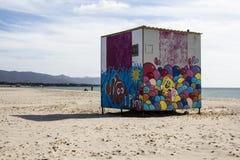 Quartu: Praia de Poetto - Sardinia Fotografia de Stock