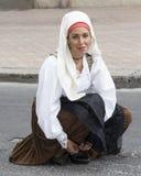 QUARTU S e , ITÁLIA - 15 de setembro de 2013: Festival de vinho, em honra da celebração de St Helena - Sardinia Fotos de Stock