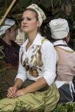 QUARTU S e , ITÁLIA - 15 de setembro de 2013: Festival de vinho, em honra da celebração de St Helena - Sardinia Fotografia de Stock