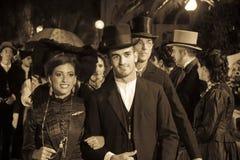 QUARTU S e , ITÁLIA - 16 de setembro de 2012: Vestido assim em Quartu - parada dos trajes e do período do abbigliiamento - Sardin Foto de Stock Royalty Free