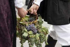 QUARTU S e , ITALIË - September 15, 2013: Wijnfestival, ter ere van de viering van St.Helena - Sardinige Stock Afbeelding