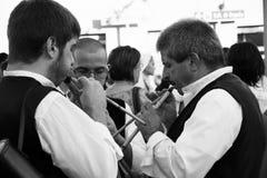QUARTU S e , ITALIEN - 15. September 2012: Parade des Wein-Festivals 2012 - Sardinien Stockfoto