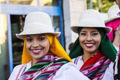 QUARTU S.E., ITALY - July 15, 2016: 30 ^ Sciampitta - International festival of folklore -Sardegna royalty free stock photos