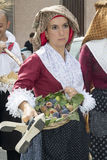 QUARTU S.E., ITALY - September 15, 2013: Wine Festival, in honor of the celebration of St. Helena - Sardinia Stock Images