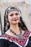 QUARTU S e , WŁOCHY, Lipiec - 15, 2016: 30 Sciampitta Sardinia - Międzynarodowy festiwal folklor - Zdjęcia Royalty Free