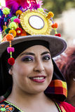 QUARTU S e , WŁOCHY, Lipiec - 15, 2016: 30 Sciampitta Sardinia - Międzynarodowy festiwal folklor - Zdjęcie Royalty Free