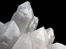 Quartz cristal Stock Photo