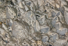 Quartz cristals relief Stock Photography