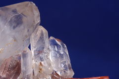 Quartz crystal Stock Photos