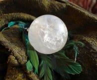 Quartz crystal ball royalty free stock photos