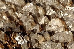 Quartz Crystal Field Royalty Free Stock Image